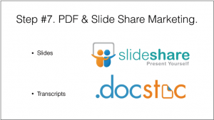 PDF & Slide Share marketing
