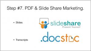 PDF & Slide Share marketing