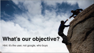 Whats your objective