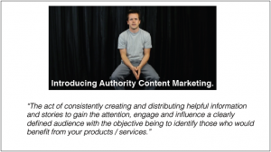 introduction to Authority Content