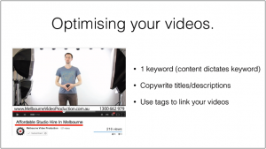 optimise youtub video